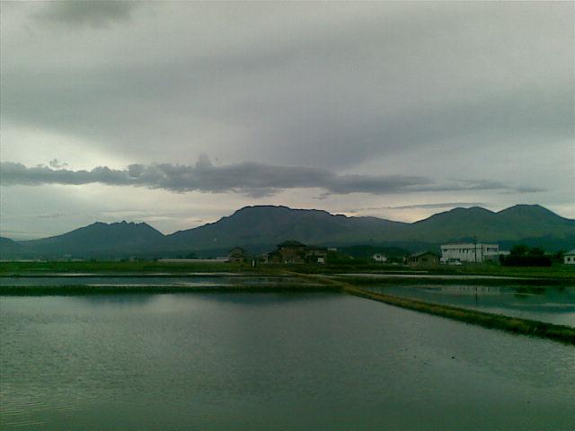 雨が降りそう。