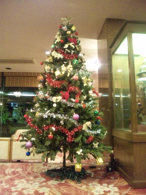 もうクリスマスシーズン?
