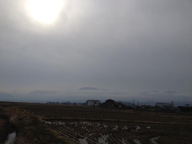 今朝の阿蘇山