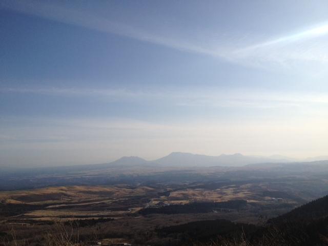 久住からの阿蘇山