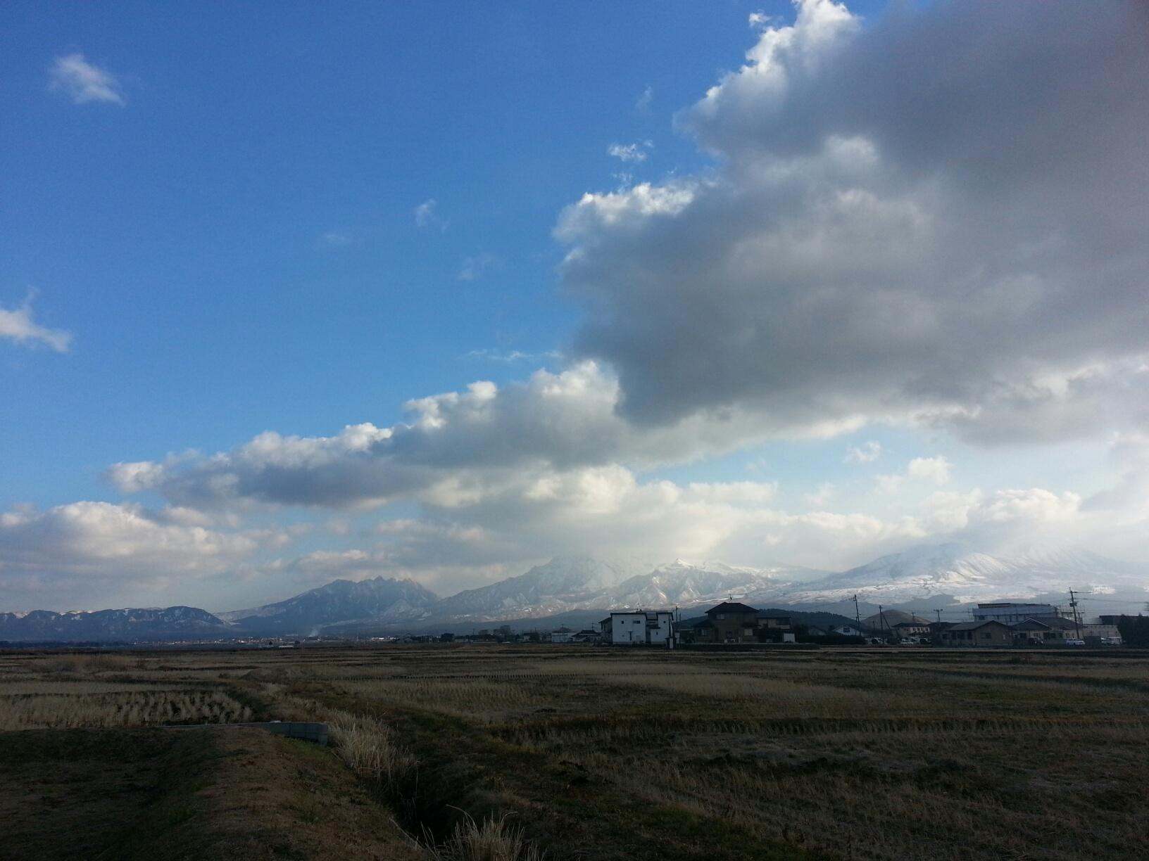 今日の阿蘇山
